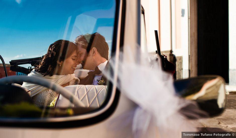 Il matrimonio di Giulia e Giuseppe a Vico Equense, Napoli