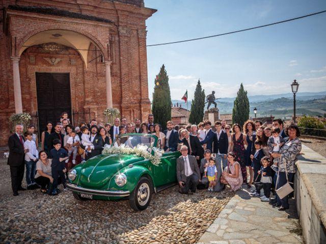 Il matrimonio di Alessandro e Anna a Castelnuovo Calcea, Asti 7