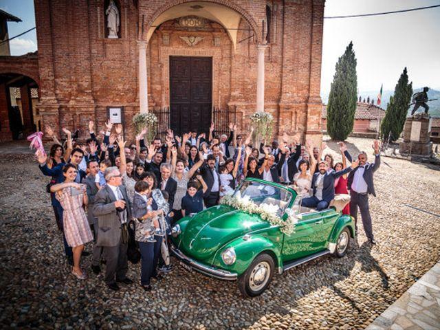 Il matrimonio di Alessandro e Anna a Castelnuovo Calcea, Asti 1