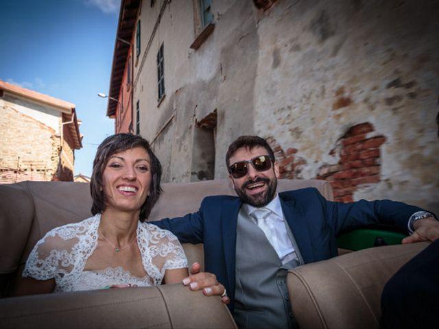 Il matrimonio di Alessandro e Anna a Castelnuovo Calcea, Asti 9