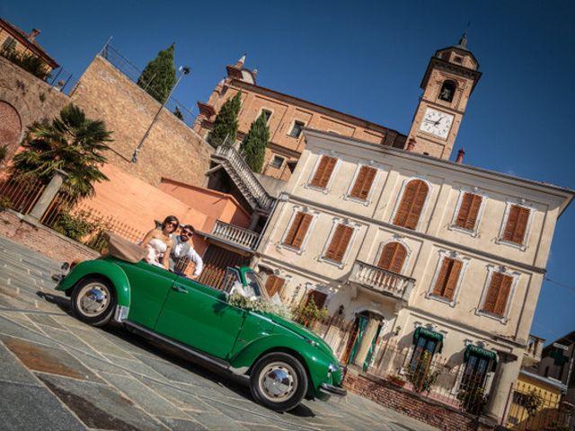 Il matrimonio di Alessandro e Anna a Castelnuovo Calcea, Asti 12