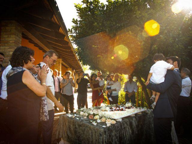 Il matrimonio di Alessandro e Anna a Castelnuovo Calcea, Asti 17