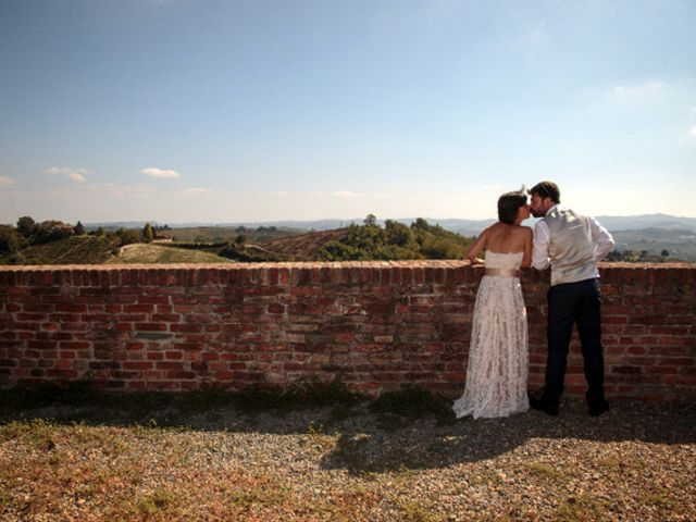 Il matrimonio di Alessandro e Anna a Castelnuovo Calcea, Asti 18
