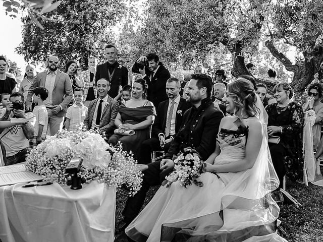 Il matrimonio di Alessandro e Eleonora a Montecosaro, Macerata 61