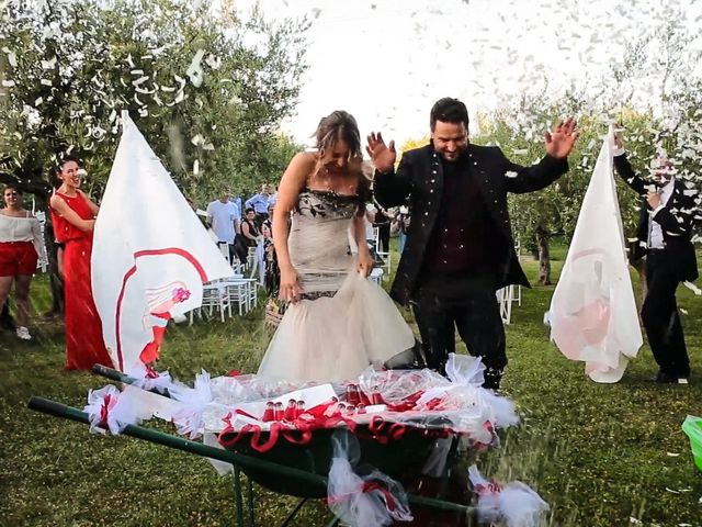 Il matrimonio di Alessandro e Eleonora a Montecosaro, Macerata 73