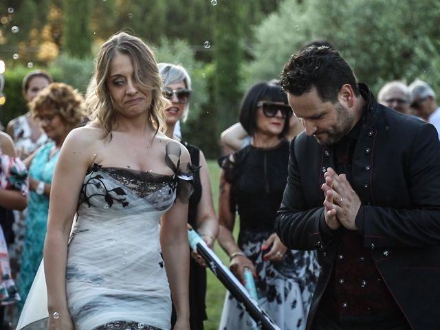 Il matrimonio di Alessandro e Eleonora a Montecosaro, Macerata 76