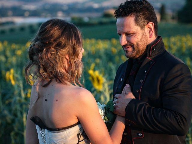 Il matrimonio di Alessandro e Eleonora a Montecosaro, Macerata 86