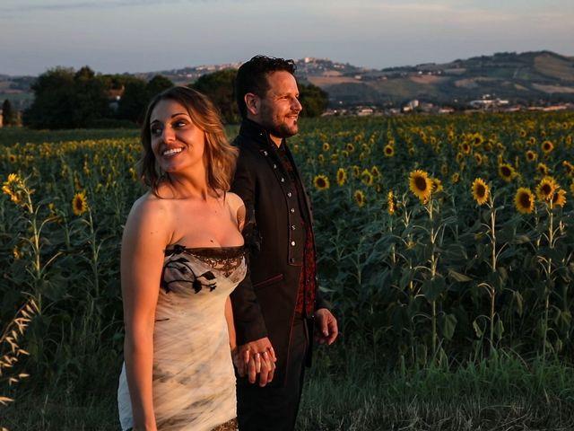 Il matrimonio di Alessandro e Eleonora a Montecosaro, Macerata 88