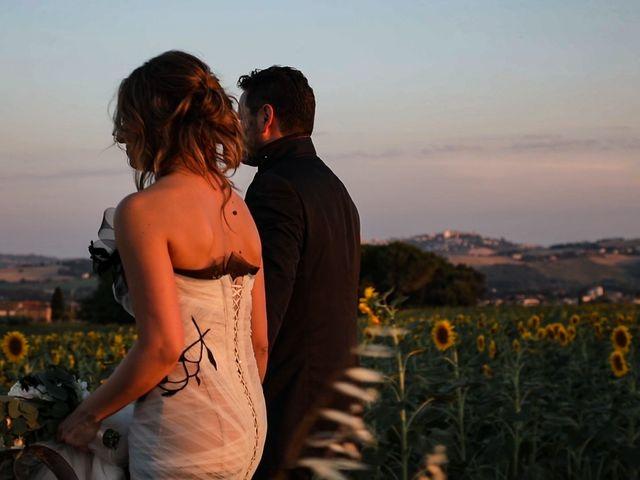 Il matrimonio di Alessandro e Eleonora a Montecosaro, Macerata 89