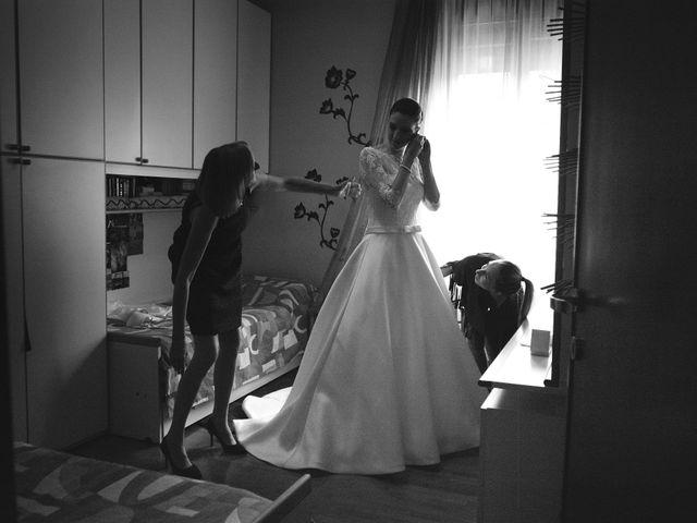 Il matrimonio di Luca e Miriam a Rovellasca, Como 9