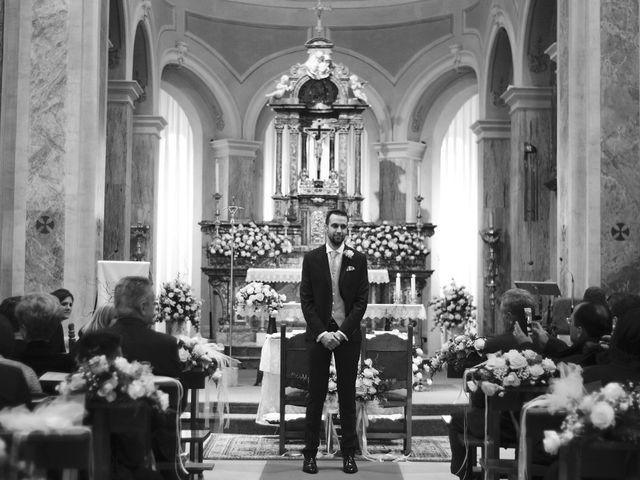 Il matrimonio di Luca e Miriam a Rovellasca, Como 14
