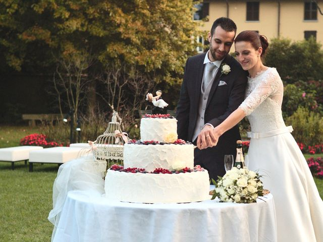 Il matrimonio di Luca e Miriam a Rovellasca, Como 55