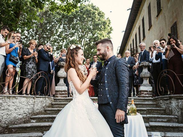 Il matrimonio di Mattia e Eleonora a Robecco sul Naviglio, Milano 39