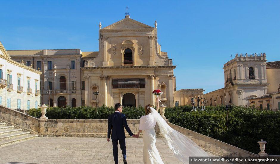 Il matrimonio di Luciano e Angela a Noto, Siracusa