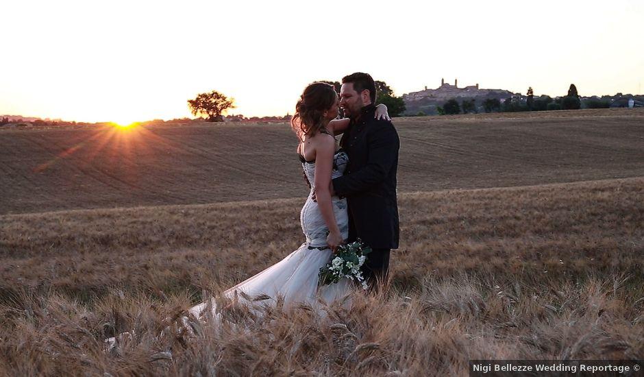 Il matrimonio di Alessandro e Eleonora a Montecosaro, Macerata