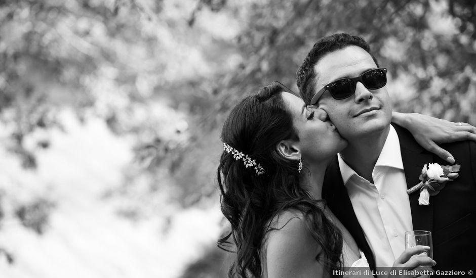 Il matrimonio di Rafael e Aline a Sarteano, Siena