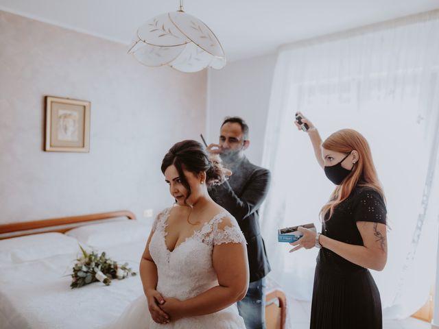 Il matrimonio di Pierdomenico e Chiara a Collecorvino, Pescara 89
