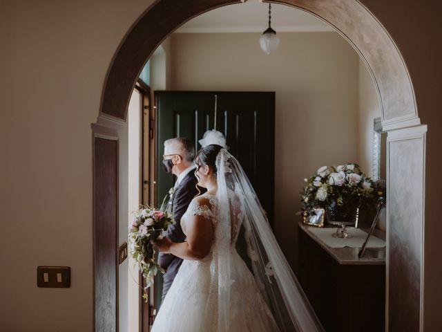 Il matrimonio di Pierdomenico e Chiara a Collecorvino, Pescara 114