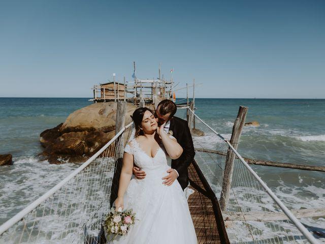 Il matrimonio di Pierdomenico e Chiara a Collecorvino, Pescara 135