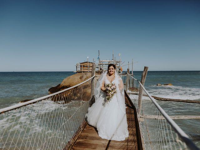 Il matrimonio di Pierdomenico e Chiara a Collecorvino, Pescara 136