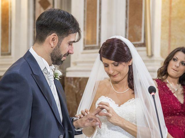Il matrimonio di Tania e Giuseppe a Mascalucia, Catania 23