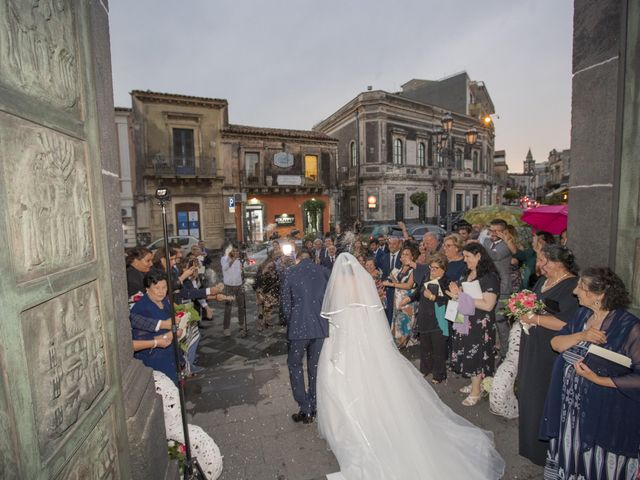 Il matrimonio di Tania e Giuseppe a Mascalucia, Catania 25