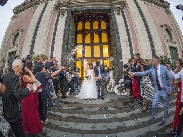 Il matrimonio di Tania e Giuseppe a Mascalucia, Catania 26