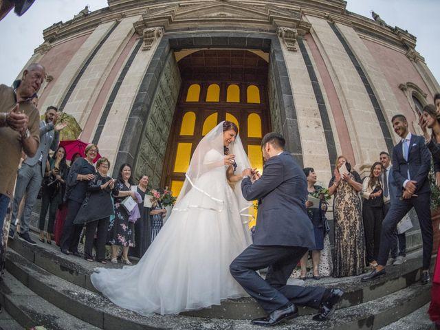 Il matrimonio di Tania e Giuseppe a Mascalucia, Catania 27