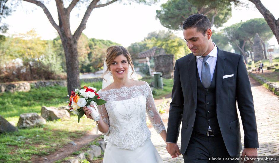 Il matrimonio di Piero e Marta a Roma, Roma