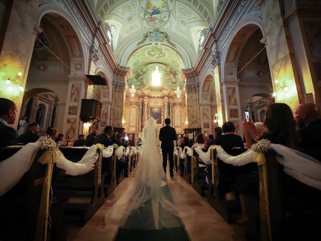 Il matrimonio di Lorenzo e Luciana a Piansano, Viterbo 23