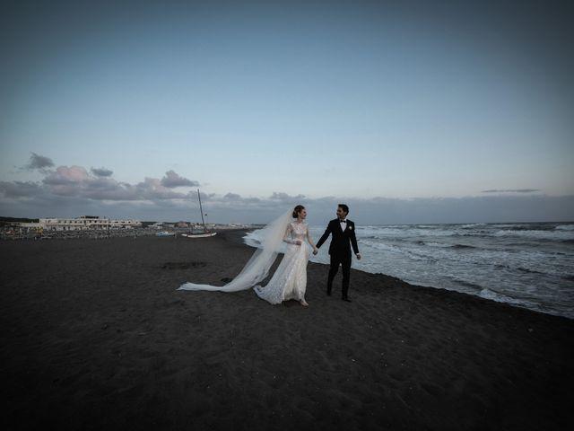 Il matrimonio di Lorenzo e Luciana a Piansano, Viterbo 34