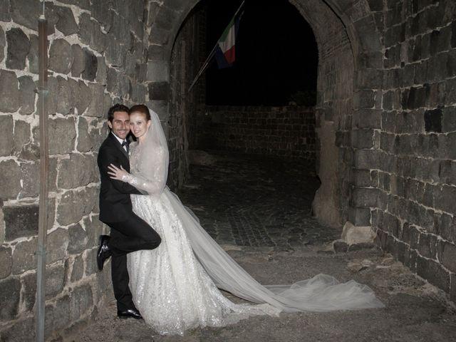 Il matrimonio di Lorenzo e Luciana a Piansano, Viterbo 38