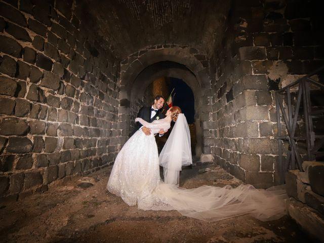 Il matrimonio di Lorenzo e Luciana a Piansano, Viterbo 39