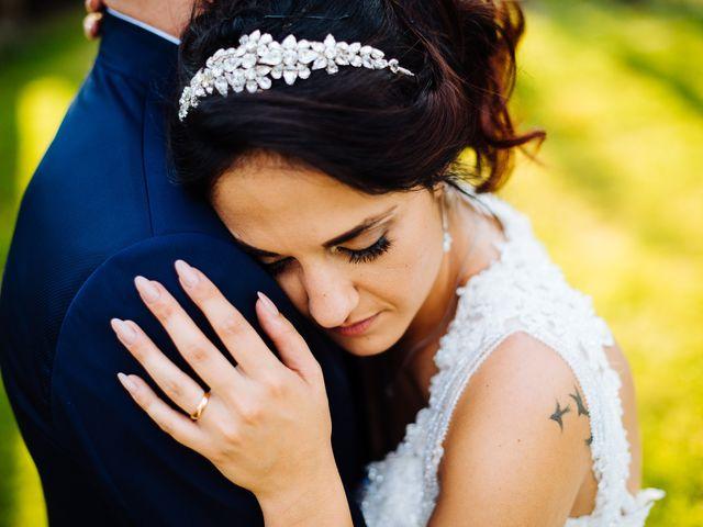 le nozze di Caterina e Stefano