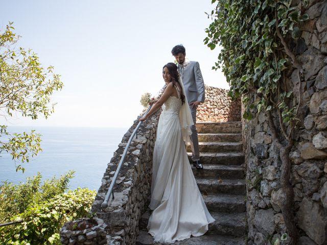 Il matrimonio di Antonio e Federica a Positano, Salerno 27