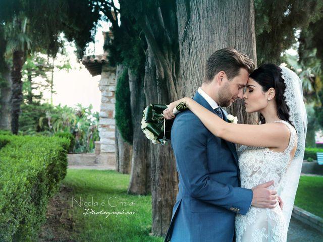 le nozze di Donatella e James