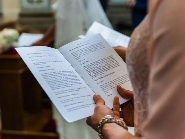Il matrimonio di Sergio e Sabrina a Besozzo, Varese 31