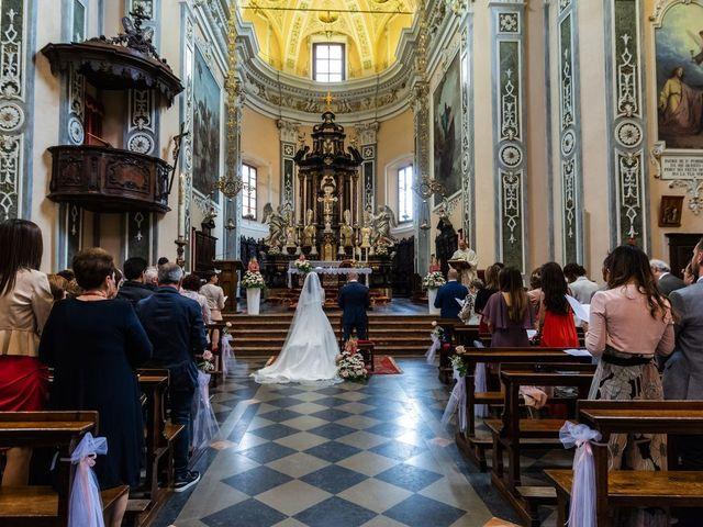 Il matrimonio di Sergio e Sabrina a Besozzo, Varese 32