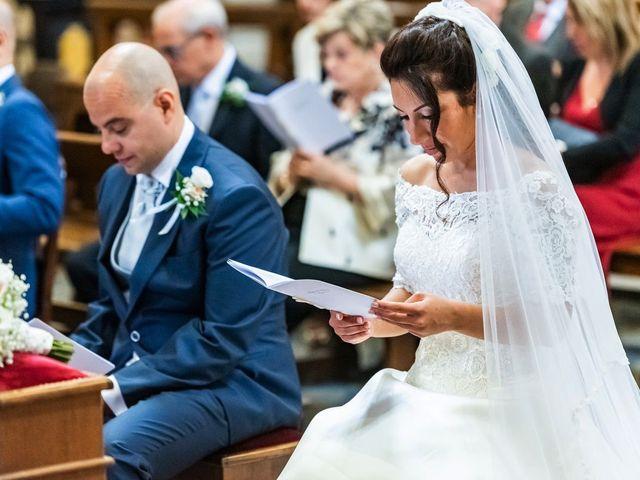 Il matrimonio di Sergio e Sabrina a Besozzo, Varese 34