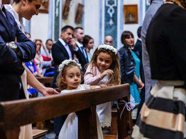 Il matrimonio di Sergio e Sabrina a Besozzo, Varese 42