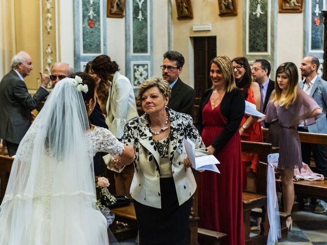Il matrimonio di Sergio e Sabrina a Besozzo, Varese 45