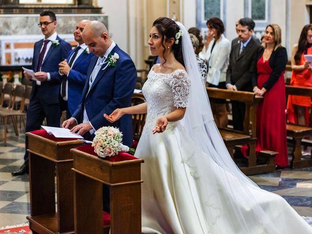 Il matrimonio di Sergio e Sabrina a Besozzo, Varese 46