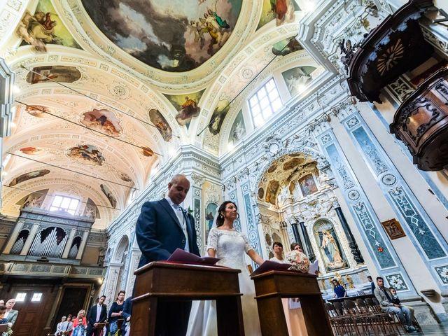 Il matrimonio di Sergio e Sabrina a Besozzo, Varese 47