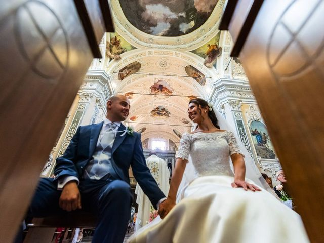 Il matrimonio di Sergio e Sabrina a Besozzo, Varese 49