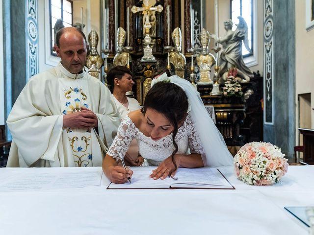Il matrimonio di Sergio e Sabrina a Besozzo, Varese 51