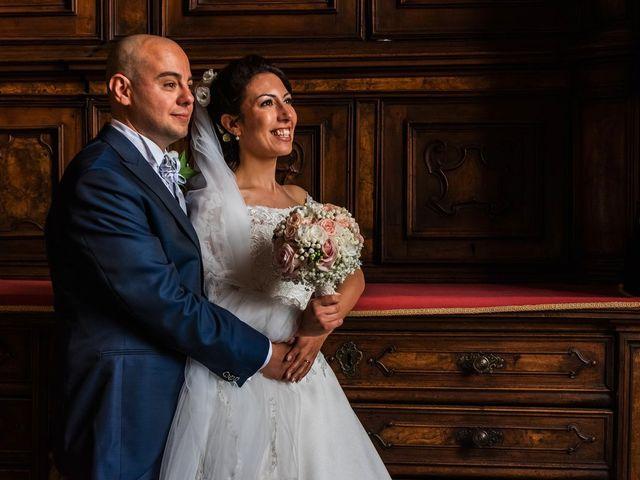Il matrimonio di Sergio e Sabrina a Besozzo, Varese 52