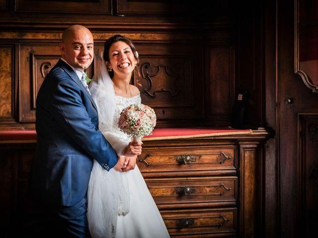 Il matrimonio di Sergio e Sabrina a Besozzo, Varese 53