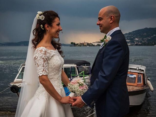 Il matrimonio di Sergio e Sabrina a Besozzo, Varese 57