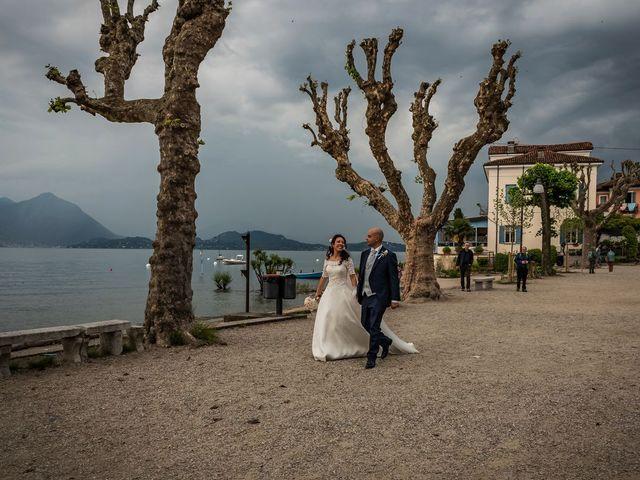 Il matrimonio di Sergio e Sabrina a Besozzo, Varese 58