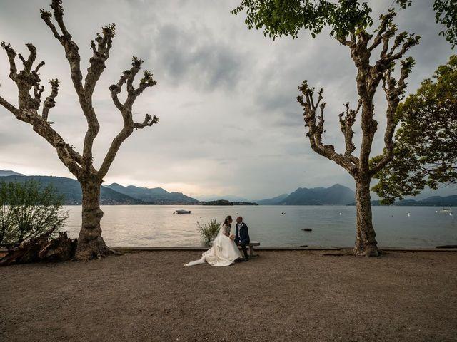 Il matrimonio di Sergio e Sabrina a Besozzo, Varese 59